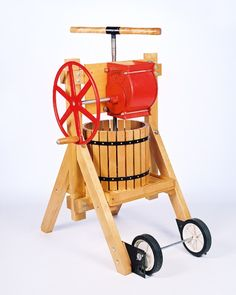 Apple Cider | Wine and Fruit Presses | For The Self-Sufficient Orchard or Commercial Grower