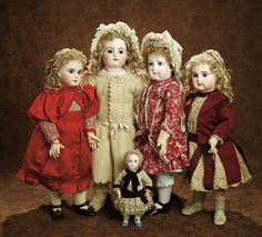 January 8, 2017 at the Westin Hotel, Newport Beach, CA. 9AM Preview. 11AM Auction. The legendary doll collection of Samy Odin from the Musée de la Poupée of Paris is the subject of this one-person auction. Many of more than 400 dolls in the collection, mirroring doll history. Absentee bid, live telephone bidding and live internet bidding is welcome. For info call 800-638-0422. View online https://theriaults.proxibid.com