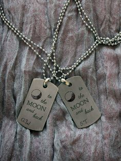 Herb Luxury Dog Tag Necklace Personalized Name Gifts