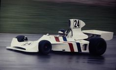 James Hunts first F-1 drive, 1974.....(Hesketh 308).