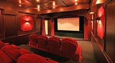 movie theatre in house