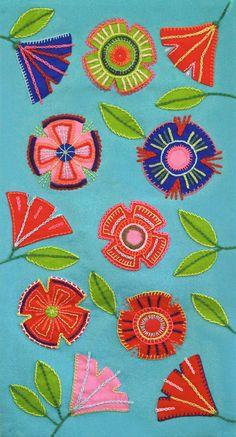 From Taito Pirkanmaa Embroidery Transfers, Vintage Embroidery, Embroidery Applique, Embroidery Stitches, Embroidery Patterns, Machine Embroidery, Embroidery Tattoo, Scandinavian Folk Art, Scandinavian Embroidery