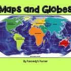 UPDATED SEPTEMBER 2014 ~ This is all you will need to teach all about Maps and Globes. This unit will cover the following topics : Words to Kn...