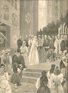 Wedding Marie Valerie and Franz Salvator