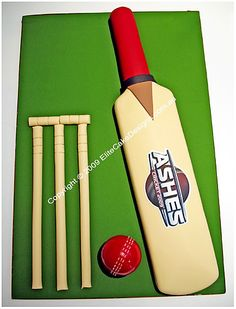 Cricket Novelty Birthday Cake, Novelty Cakes Sydney, 21st Birthday Cakes, Novelty cake designs, Kids Birthday Cakes