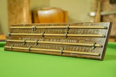 Antique Snooker Scoreboards | Browns Antiques Billiards and Interiors.