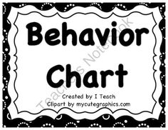 Behavioar Clip Chart- Retro Black and White from ssminnow77 from ssminnow77 on TeachersNotebook.com (8 pages)  - Behavior Clip Chart, Retro, Super Student, Role Model, Excellent Effort, Ready to Learn, Make Better Choices, Teacher's Choice, Parent Contact