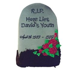 Tombstone: Buried Youth 2D | Cakes Decorated - Over the Hill | Deerfields Bakery