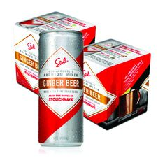 Stoli Ginger Beer Moscow Mule Non-Alcoholic Beer 4 Cans Per Case (2 Cases) #mixeddrinks #beer