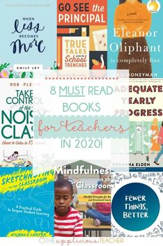 8 Must Read Books for teachers- some of my favorite books for the new year! Guided Reading Lessons, Reading Resources, Reading Strategies, School Resources, Teacher List, Teacher Books, Best Teacher, Professional Development For Teachers, Teacher Conferences
