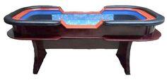 "96"" Premium Craps table with extra features - blue"