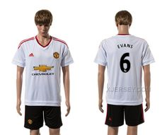 http://www.xjersey.com/201516-manchester-united-6-evans-away-jersey.html Only$35.00 2015-16 MANCHESTER UNITED 6 EVANS AWAY JERSEY #Free #Shipping!