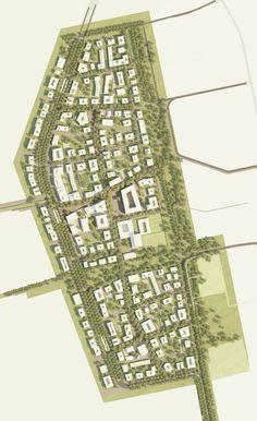 West 8 Wins Freiham Nord Urban & Landscape Planning Competition in Munich