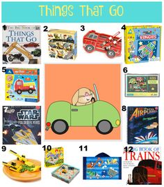 The Well Styled Child Things That Go Themed Easter Basket Ideas   #easter #basket #cars #construction #firetruck #filler #ideas #kids
