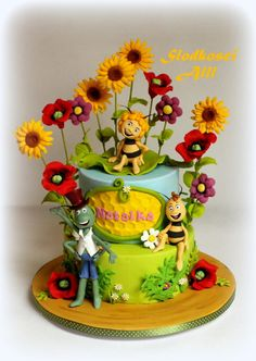 Maya the Bee Cake - Cake by Alll