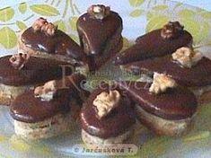 Kávové slzičky - My site Chocolate Coffee, Chocolate Desserts, Czech Desserts, Baking Recipes, Cake Recipes, Czech Recipes, Oreo Cupcakes, Xmas Cookies, Food Decoration