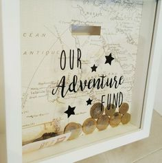 Beautiful #handmade #adventure funds money box drop frame gift #valentines,  View more on the LINK: http://www.zeppy.io/product/gb/2/282332826675/