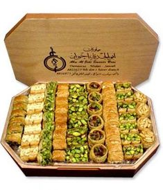 Abou Aljdi Deluxe Arabic Sweets sweets desserts You are in the right place about Arabi Arabic Dessert, Arabic Sweets, Arabic Food, Lebanese Desserts, Lebanese Recipes, Middle East Food, Middle Eastern Recipes, Turkish Sweets, Tea Snacks