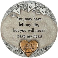 Pet Loss Memorial Stone Pet Stones and Markers - Express your sympathy over the loss of a furry friend with the pet memorial stone. Dog Quotes, Animal Quotes, Pet Loss Quotes, Dog Sayings, Cat Paws, Dog Cat, Memorial Garden Stones, Dog Memorial Stone, Pet Loss Grief