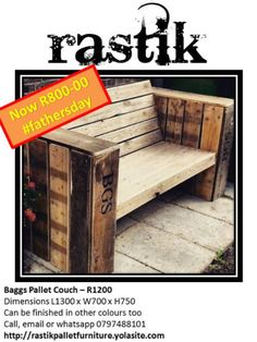 Buy & Sell On Gumtree: South Africa's Favourite Free Classifieds Pallet Couch, Pallet Furniture, Garden Furniture, Outdoor Furniture, Outdoor Decor, Gumtree South Africa, Buy And Sell Cars, Home And Garden, It Is Finished