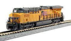 Kato USA Inc GE ES44AC GEVO - Standard DC -- Union Pacific #5530