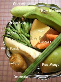 Cook like Priya: Kerala Style Aviyal Recipe   Mixed Vegetable Coconut Curry   Kerala Vegetarian Curry
