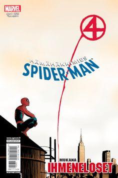 Hämähäkkimies - Spider-Man nro 4/2013. #sarjakuva #sarjakuvalehti #sarjis #egmont