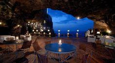 The Enchanted Grotto, Italy's Restaurant Inside A Cave