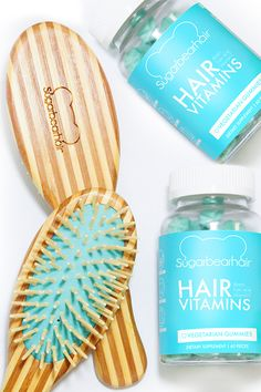 Get Healthy Hair! Eat The Blue Bear! Includes Biotin + 12 Other Nutrients To Promote Healthy Hair Growth!