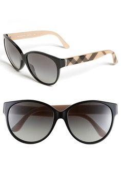 Burberry Cat's Eye Sunglasses