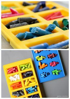 lego crayon how to, make for goodie bags