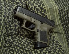 "Glock 26. ""The Baby Glock"" guns, weapons, self defense, protection, protect, knifes, concealed, 2nd amendment, america, 'merica, firearms, caliber, ammo, shells, ammunition, bore, bullets, munitions #guns #weapons"