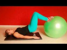 6 Exercícios de Pilates com Bola para Fazer em Casa - MundoBoaForma.com.br
