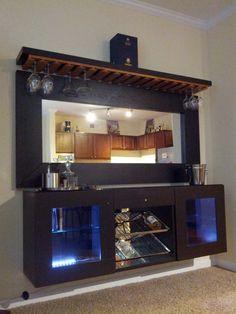 50 Stunning Home Bar Designs | Man Cave | Pinterest | Ikea hackers ...