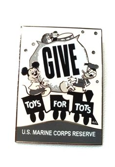 Disneys Toys for Tots Toys For Tots, Us Marine Corps, Disney Toys, Woody, Toy Story, Us Marines, Woody Allen Quotes