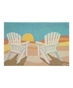 Love this Setting Sun Rug by Jellybean Rugs on #zulily! #zulilyfinds