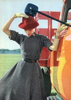 Beautiful Fashion of the 1950s ~ vintage everyday