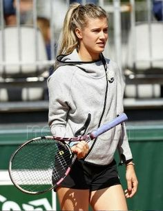 7039d7a29c French Open Tennis - Roland Garros 2015 Day One Roland Garros, Paris, France  - 24 May 2015 Eugenie Bouchard of Canada in action during practice at  Roland ...