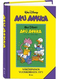 Aku Ankka: Näköispainos vuosikerrasta 1971, osa 2