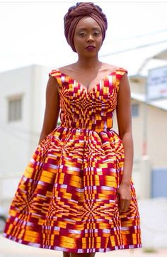 Stylish, Exquisite and Trendy Ankara Styles - Wedding Digest Naija African Maxi Dresses, African Dresses For Women, Ankara Dress, African Attire, African Wear, African Women, African Style, Unique Ankara Styles, Ankara Short Gown Styles