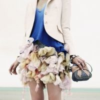 This is how to use up your left over fabric!