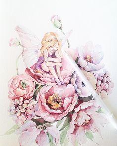 Пока рисовала полюбила ее☺️ #misha_illustration#illustration#topcreator#art#art_we_inspire#artist#arts_help#artgallery#watercolourpainting#waterblog#watercolour#watercolor#draw#drawing#paint#painting#flowers#botanical#botanicalart#botanicalillustration#цветы#акварель#иллюстрация#instaart#artblog#феечка