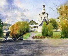 Акварели, рисунки, наброски — Владимир Тупоршин