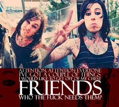 Falling In Reverse Her Music, Music Is Life, Good Music, Tim Armstrong, Wedding Mc, Im Coming Home, Escape The Fate, Ronnie Radke, Band Quotes