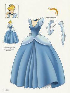 Cinderella Letra P Princesas