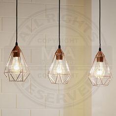 Suspension, 3xE27 L 790 cuivré I Lampen & Leuchten online Kaufen I kostenloser Versand I Online-Shop MIALIGHT