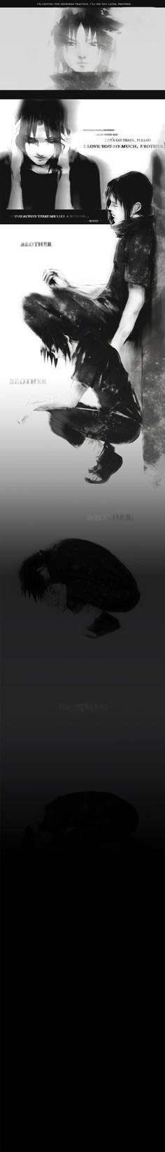 Sad :'(. Why I love anime/manga. It represents the real parts of life in it's own way artfully.
