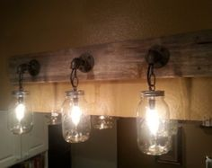 Popular items for vanity lights on Etsy
