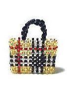 miniature beaded purse