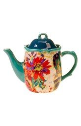 Tracy Porter® For Poetic Wanderlust® 'Scotch Moss' Teapot  I don't like tea but this is pretty